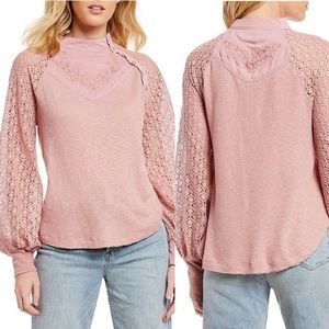 NWT Free People Sweetest Thing Thermal Top